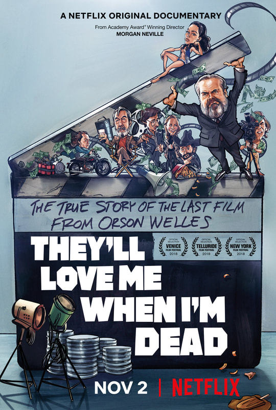 Trailer Debuts For Morgan Neville Doc On Orson Welles Final Unfinished Film Non Fiction Film